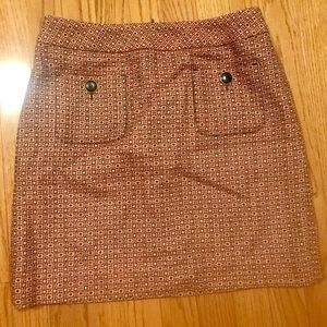 Loft Skirt Tweed Sz 2 Pockets Excellent Condition